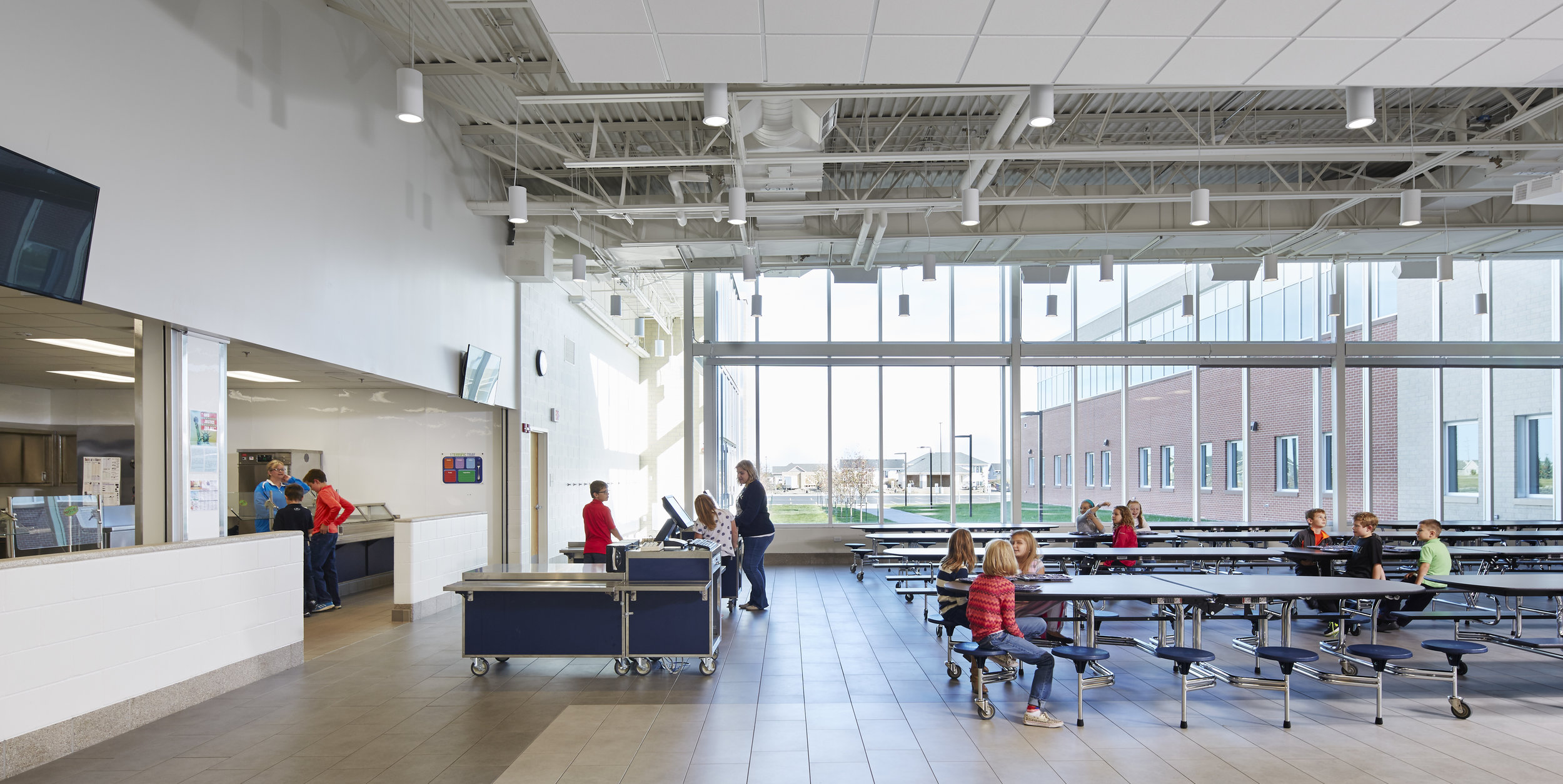 Student Commons Discovery Elementary School