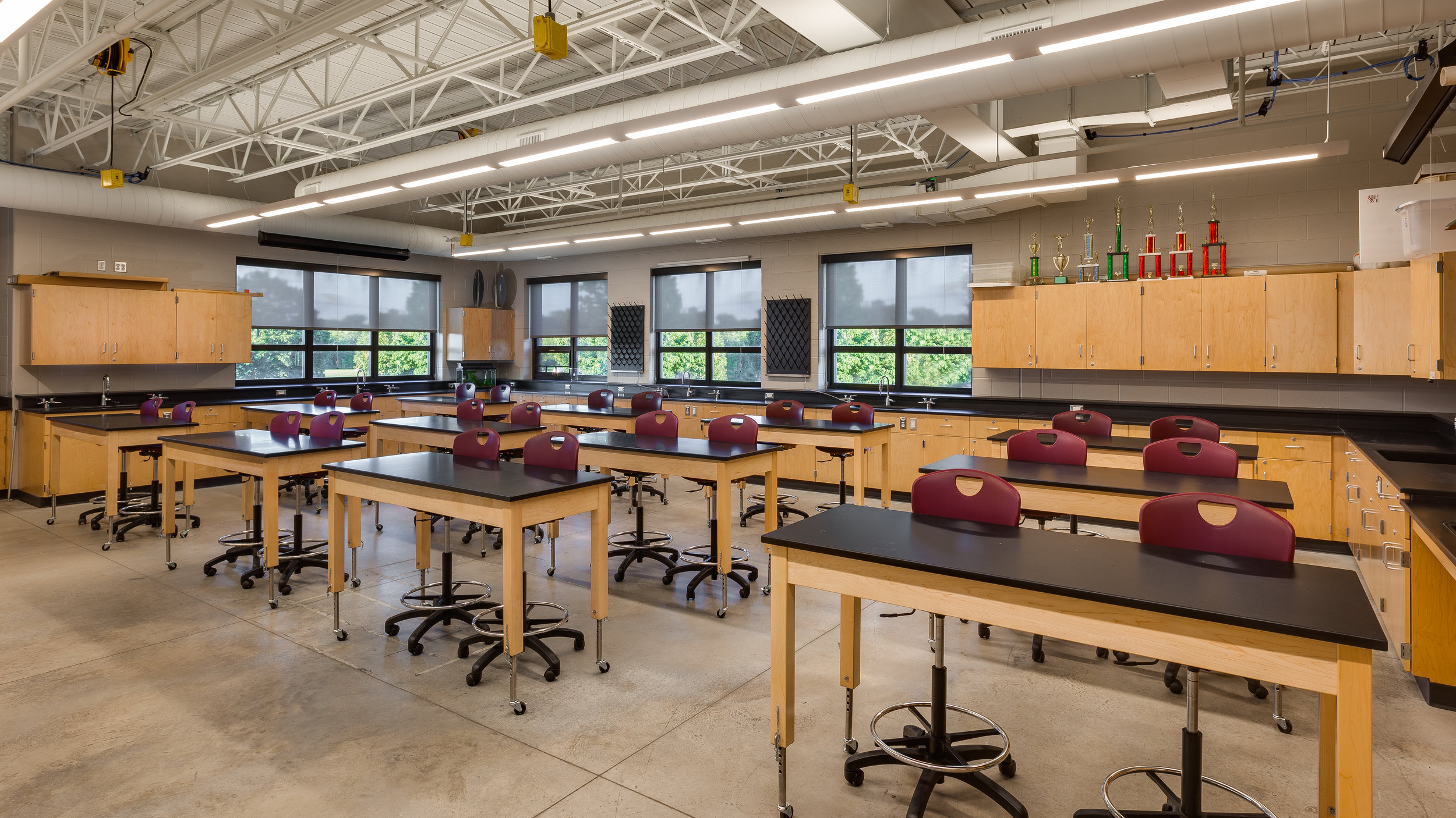 Science Lab New Hall High School