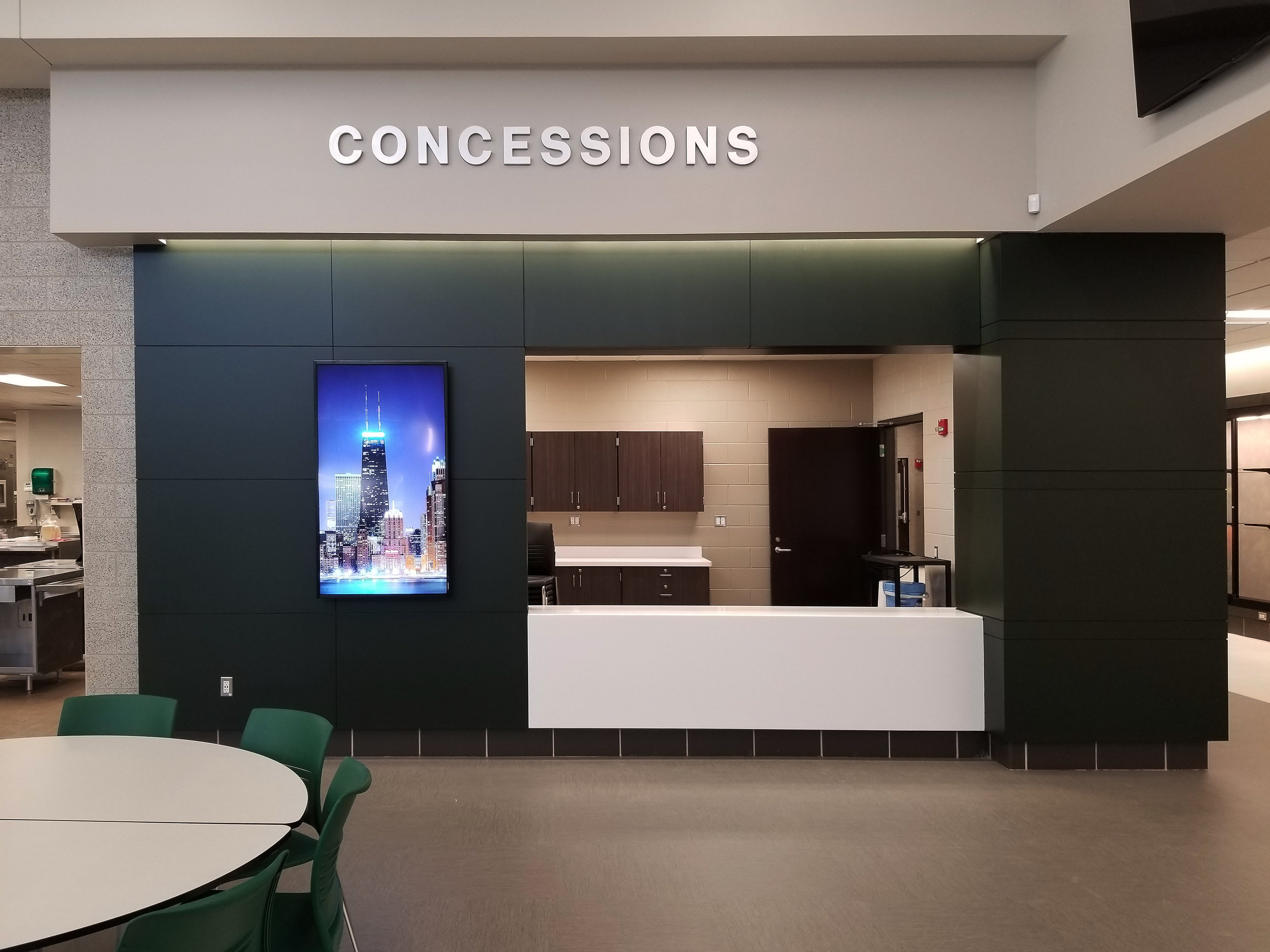 Concessions Area