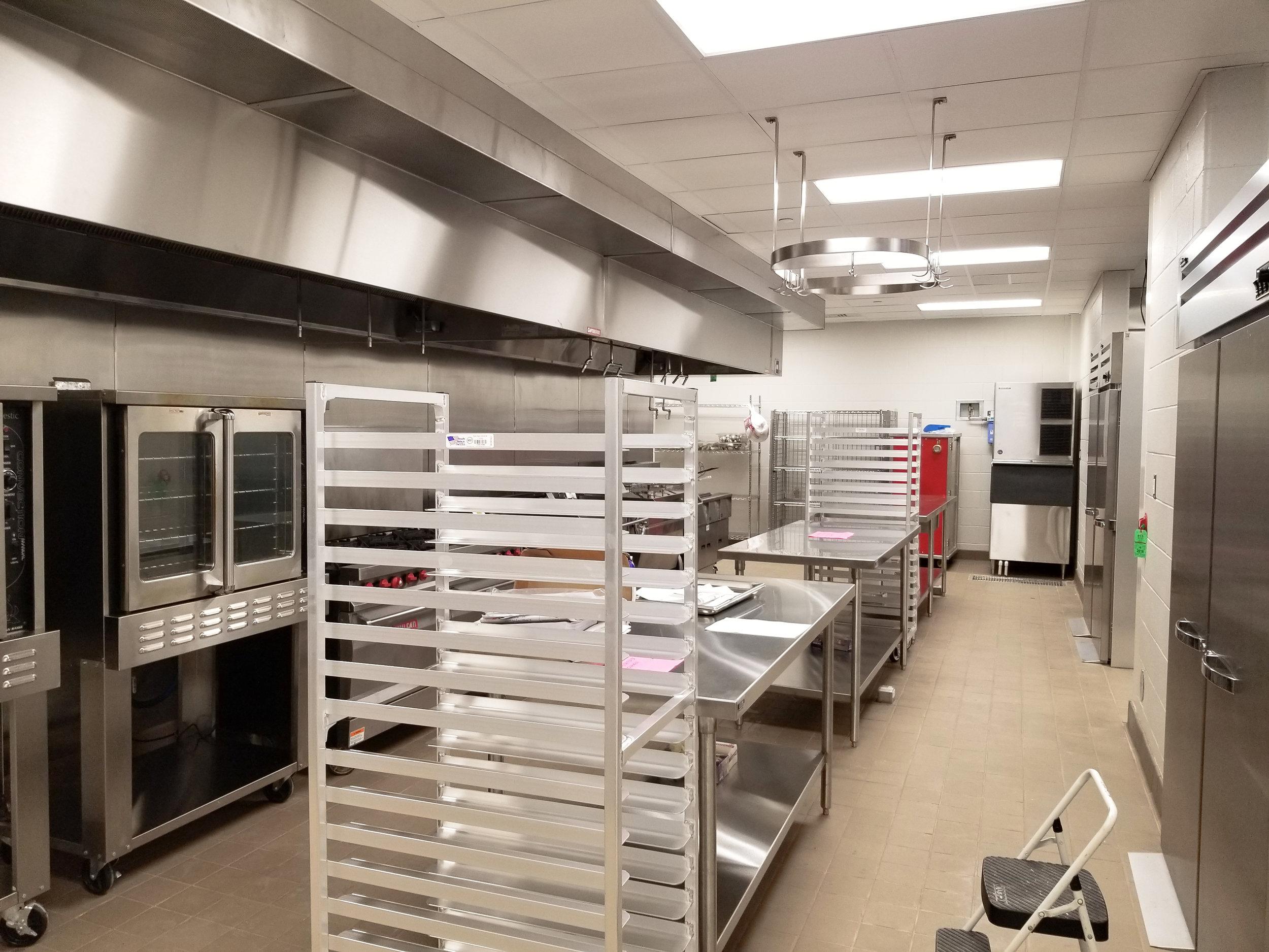 New Full Prep Kitchen