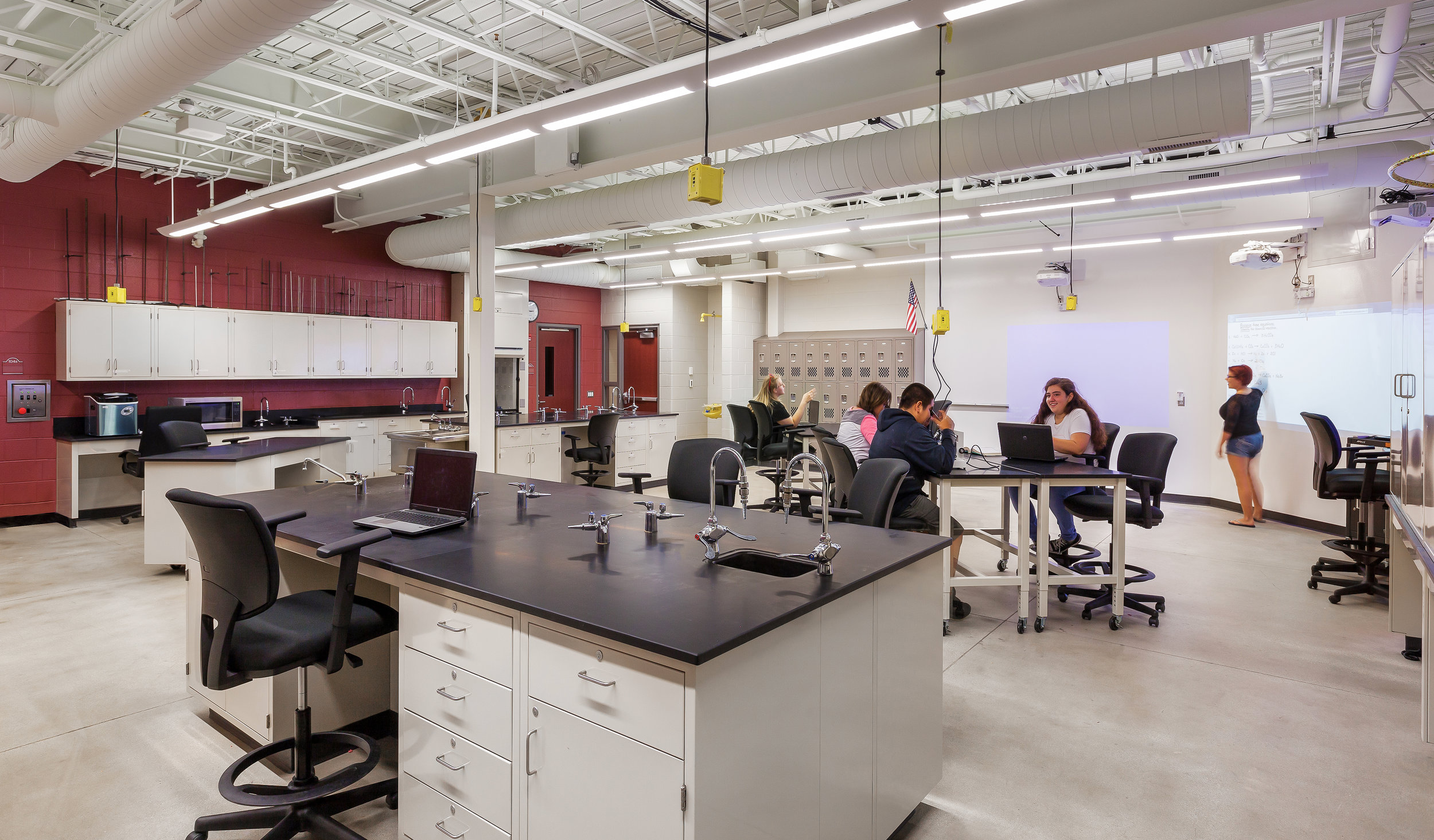 STEM LAB - NEW HALL HIGH SCHOOL