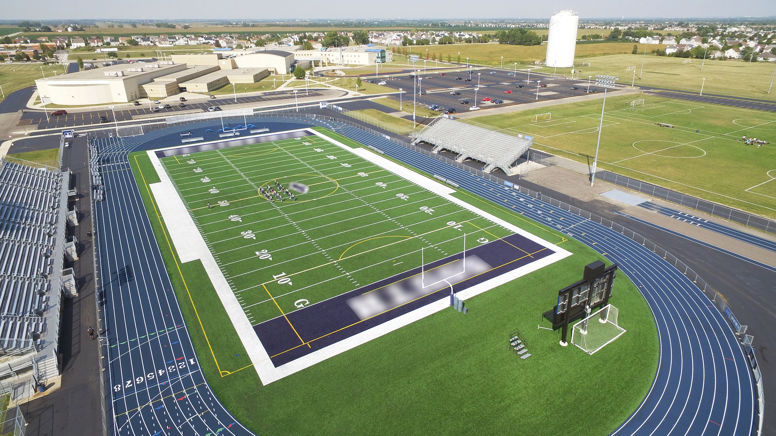 PLAINFIELD SOUTH HIGH SCHOOL - TURF STADIUM