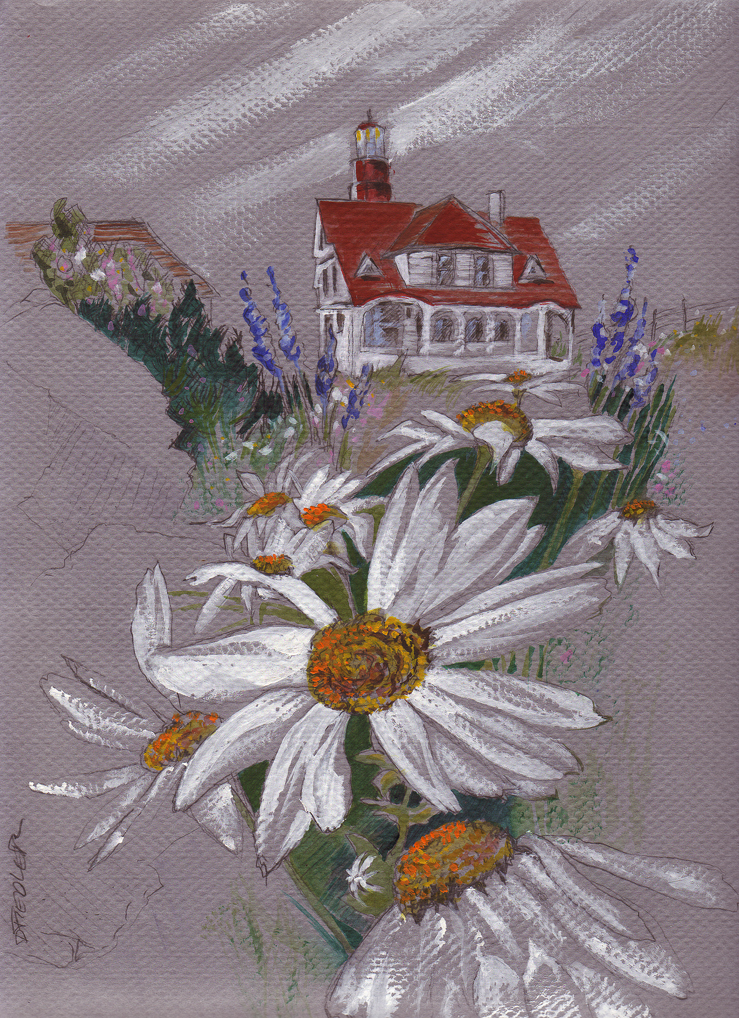 DFiedler Lighthouse Daisies.jpg