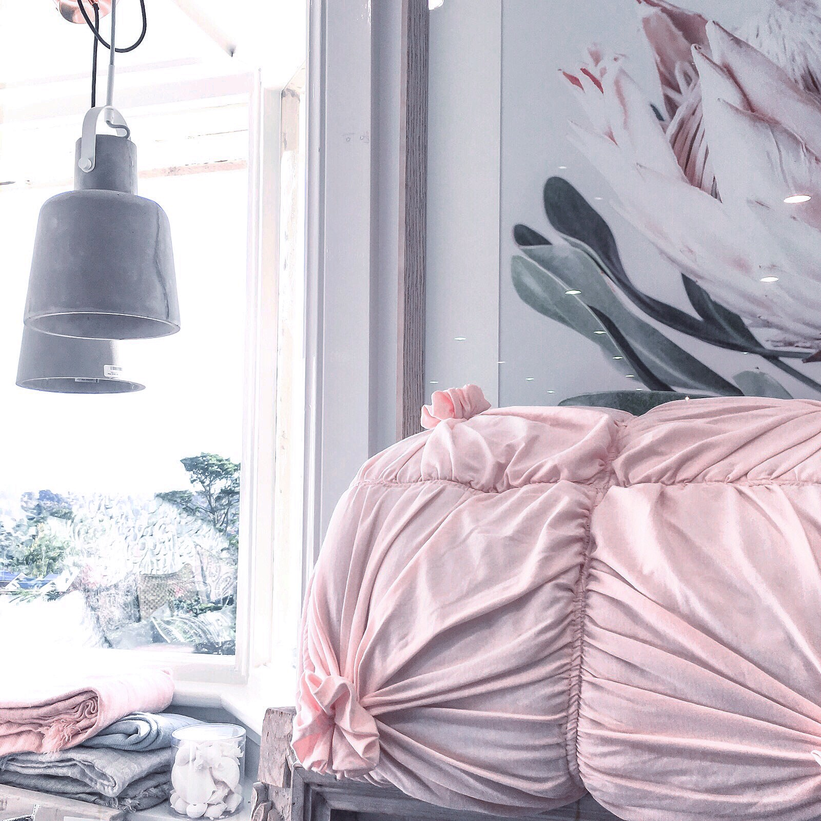 Yay or nay? Perhaps a bit of both. There will be something in this picture which inspires you. The window perhaps? Or the dusty shade of pink? The painting? Let me know!