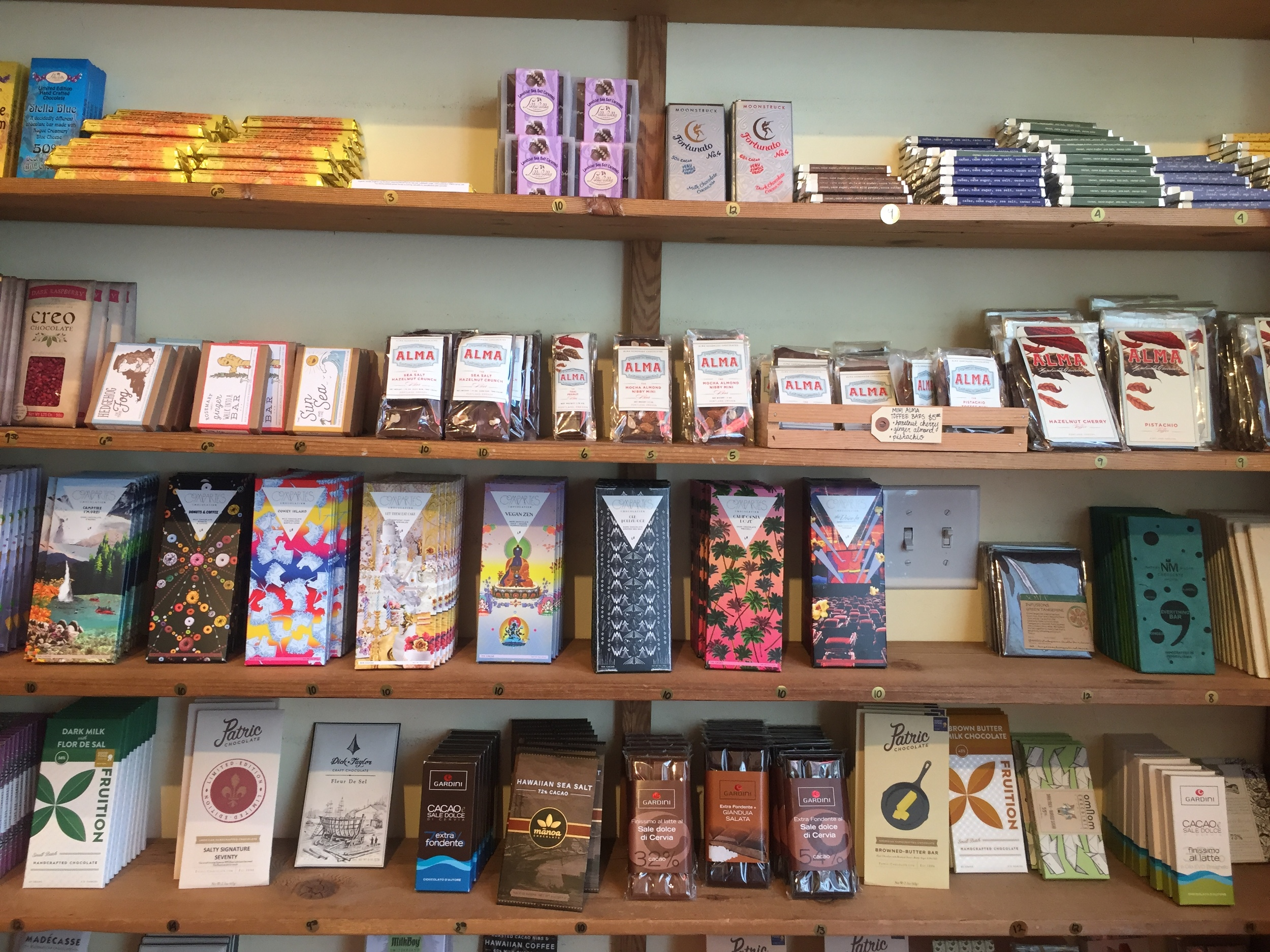 Dark chocolate heaven at The Meadow