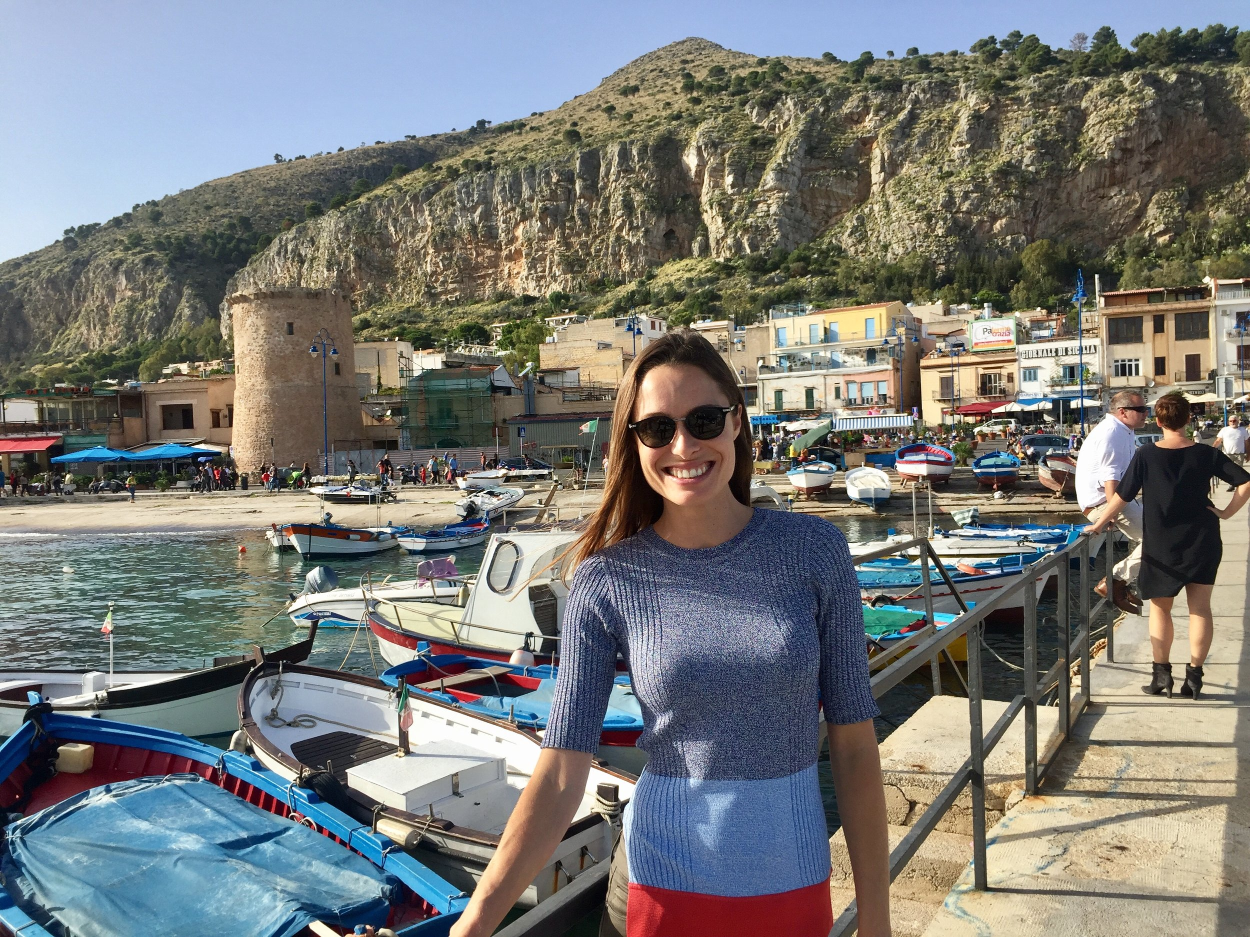 Mondello is the beach town most loved by the locals of Palermo