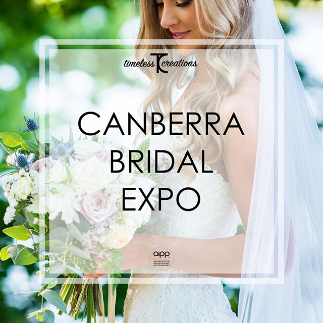 In less than 2 weeks from today, we will be returning to the Your Local Wedding Guide Canberra Bridal Expo!⁠ ⁠ This your chance to meet us in person and chat about everything you could possibly want! (And your wedding if you so desire. 😉)⁠ ⁠ You'll get to see the work we do, hear all our stories to date, and best of all, you'll absolutely receive a discount for your wedding day!⁠ ⁠ So what have you got to lose by coming to say hi? Come experience the difference Timeless Creations makes to your wedding day!⁠ ⁠ #partofyourcircle #TimelessCBR #timelesscreations #aipp #aippAccreditedPhotographer #Canberra #Weddings #CBR #CBRweddings #canberraweddingphotographer #weddingphotography #love #ido #chapel #rings #bride #groom #smile #photographer #lovewhatyoudo #lovestory #fun #happy #relaxed #candid #weddinginspiration #weddingday #brideandgroom #weddingfair #bridetobe