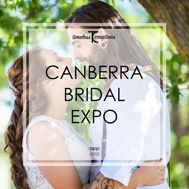 In case you missed our post last week, in less than a week from today, we will be returning to the Your Local Wedding Guide Canberra Bridal Expo! That's right! We wouldn't miss it for the world!⁠ ⁠ This your chance to meet us in person and chat about everything you could possibly want! (And your wedding if you so desire. 😉)⁠ ⁠ You'll get to see the work we do, hear all our stories to date, and best of all, you'll absolutely receive a discount for your wedding day!⁠ ⁠ So what have you got to lose by coming to say hi? Come experience the difference Timeless Creations makes to your wedding day!⁠ ⁠ #partofyourcircle #TimelessCBR #timelesscreations #aipp #aippAccreditedPhotographer #Canberra #Weddings #CBR #CBRweddings #canberraweddingphotographer #weddingphotography #love #ido #chapel #rings #bride #groom #smile #photographer #lovewhatyoudo #lovestory #fun #happy #relaxed #candid #weddinginspiration #weddingday #brideandgroom #weddingfair #bridetobe