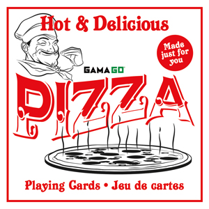 GAMAGO Pizza Playing Cards