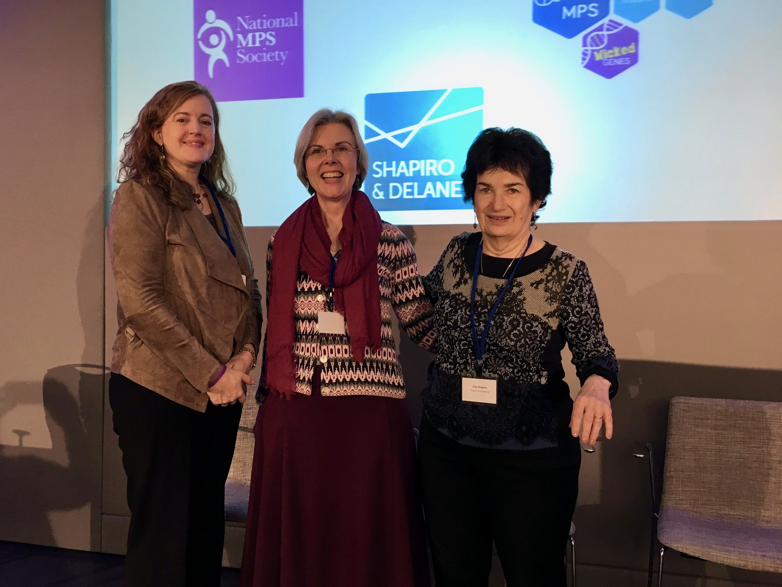 The consensus conference was organized by Kate Delaney and Dr. Elsa Shapiro, to either side of Dr. Hanneke van der Lee, Pediatric Clinical Research Office, Academic Medical Center, Amsterdam, The Netherlands, who oversaw the consensus process.