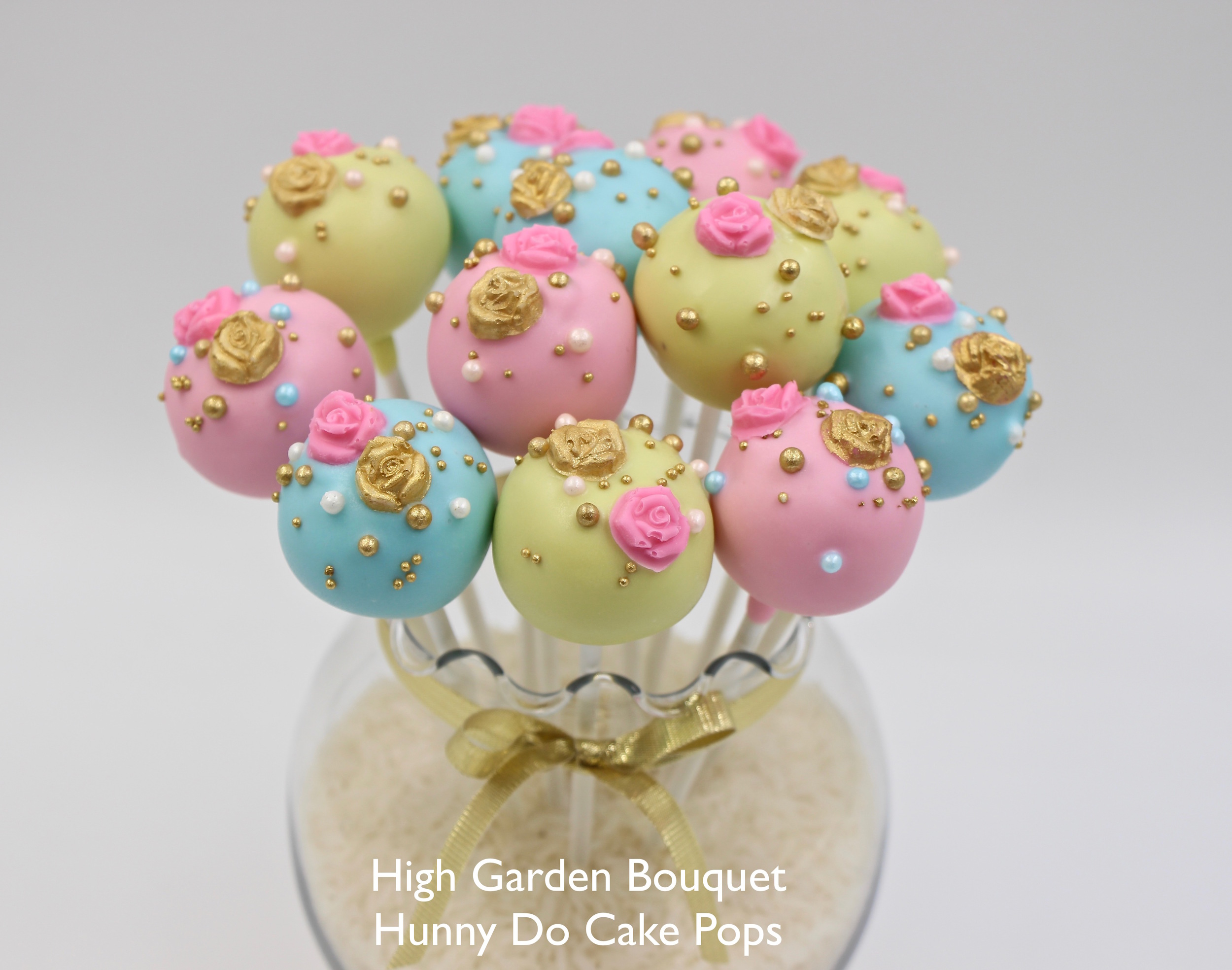 High Garden Cake Pops Hunny Do Cake Pops
