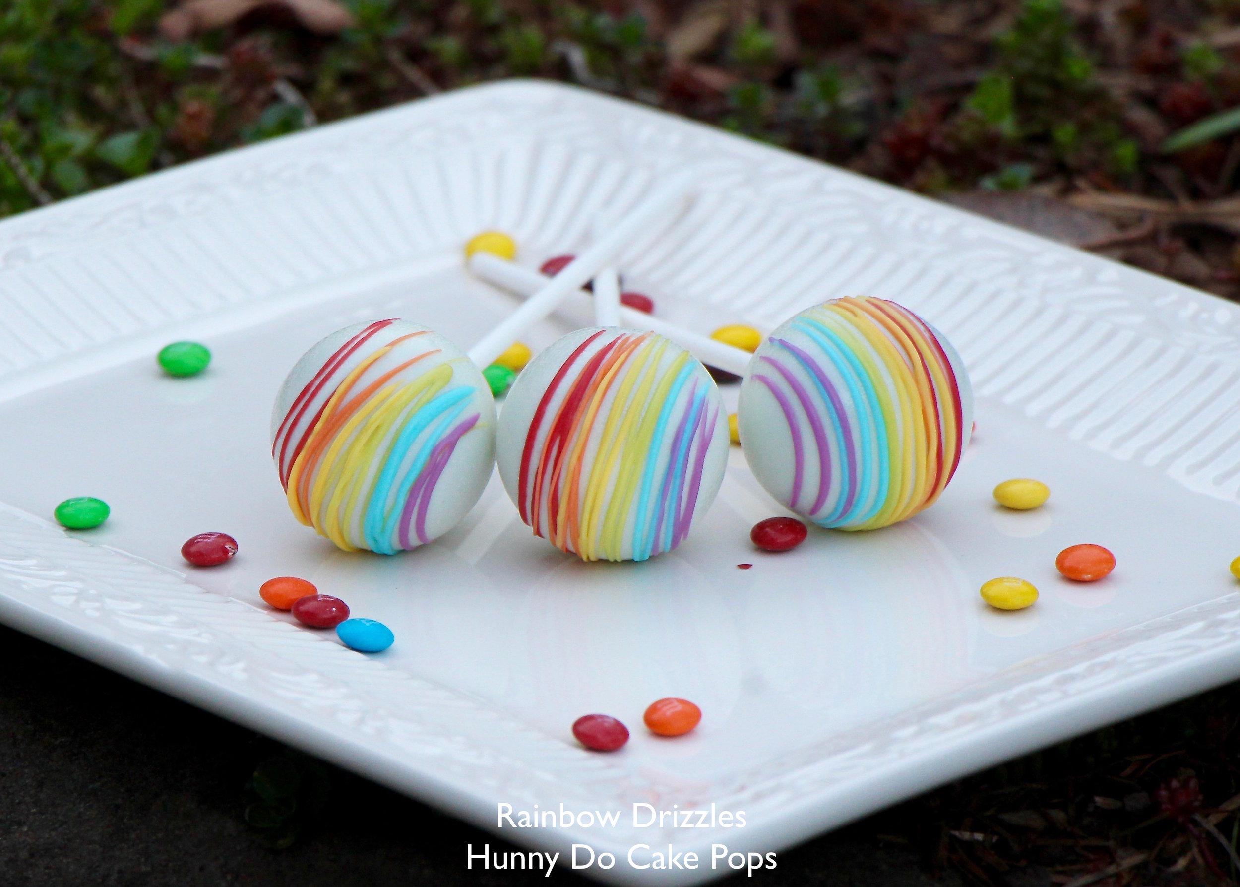 Rainbow drizzles cake pops HunnyDo 1.jpg