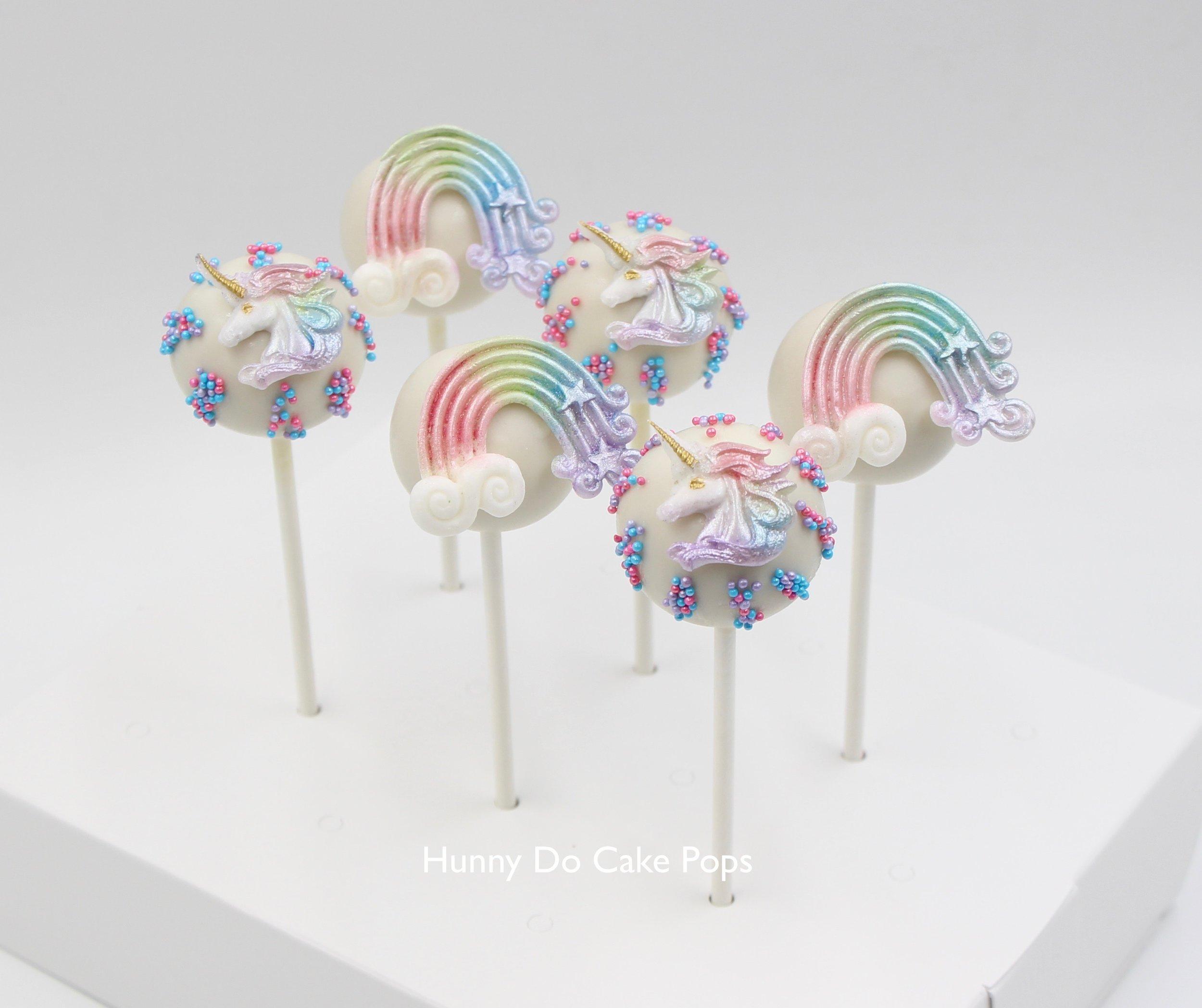 Rainbow Unicorn Cake Pops HunnyDo 1.jpg