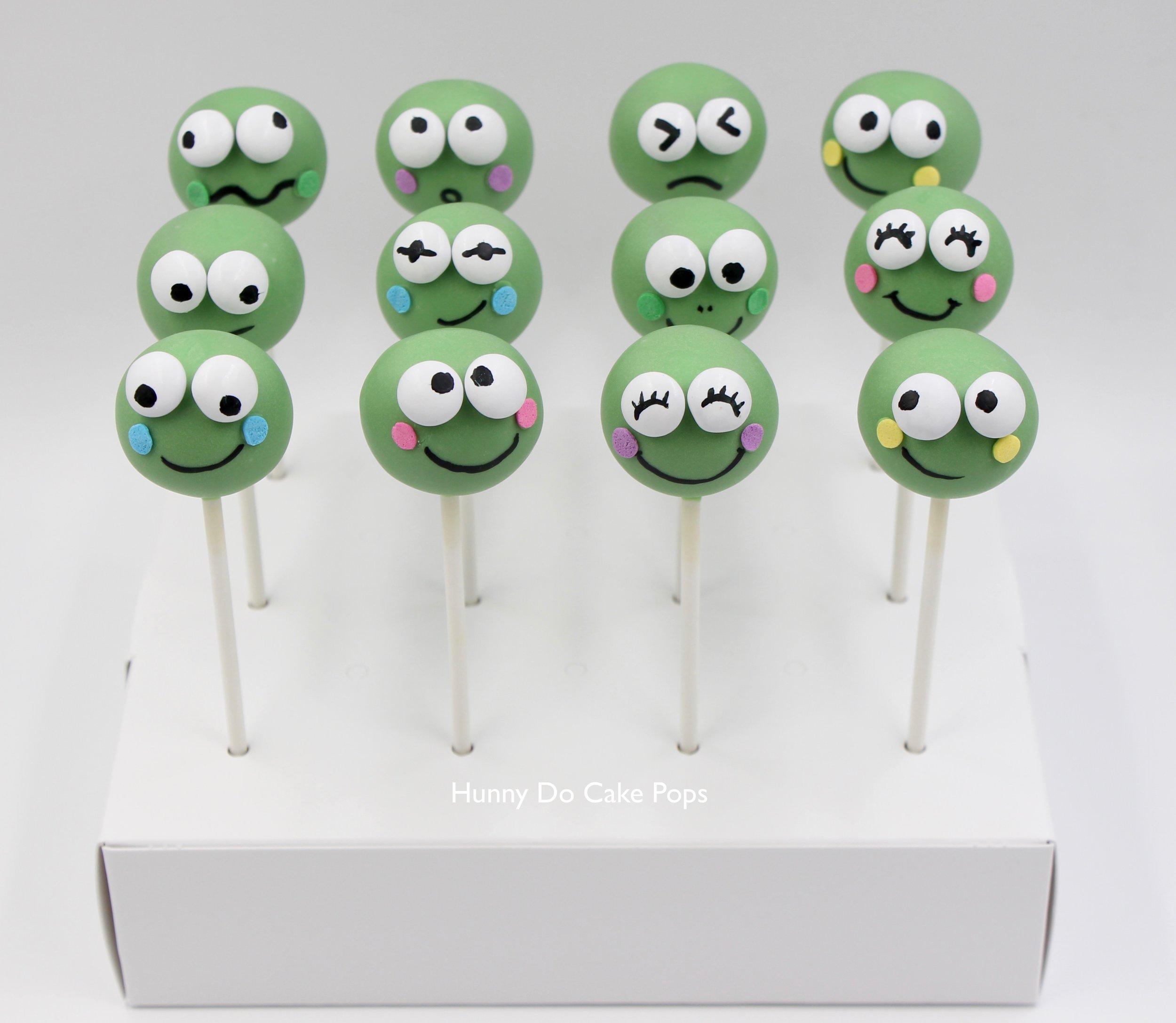Keroppi Frog Cake Pops hunnyDo 1.jpg