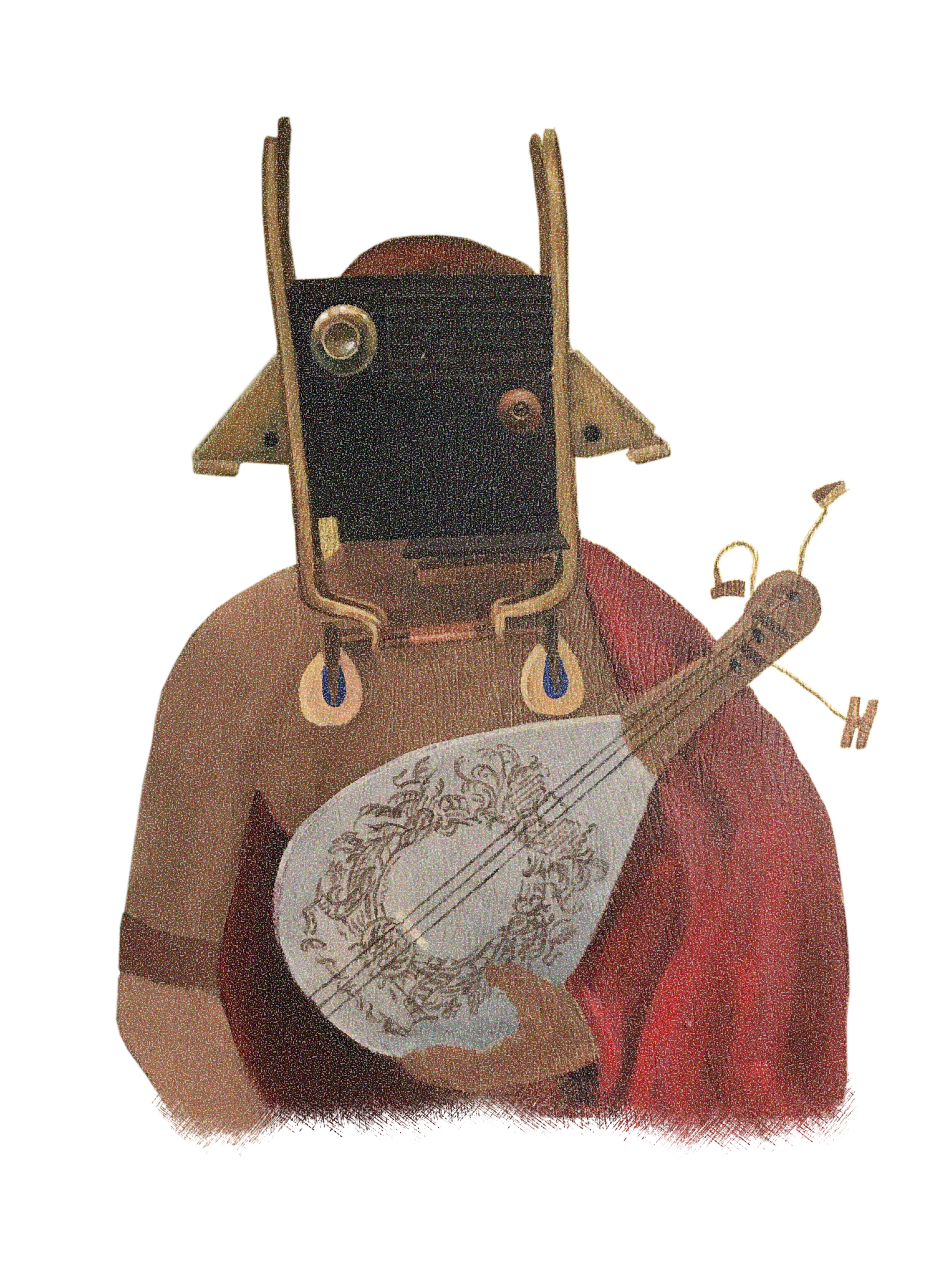 Bull Mask Pianjo Player-isolated-litho-safety.png