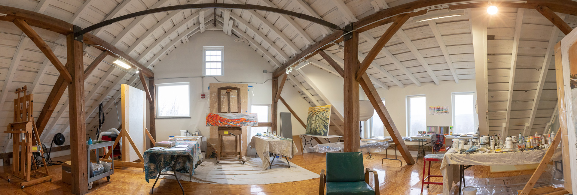 Studios at the Golden Foundation facilities, New Berlin, NY
