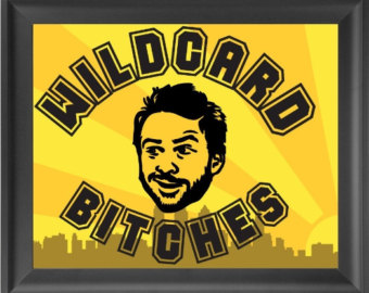 Charlie Kelly, the Wildcard! If you get it, eat a Toblerone.