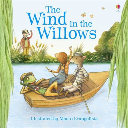 No, honest! He was a total lad! All the lads were watching Wind In The Willows!