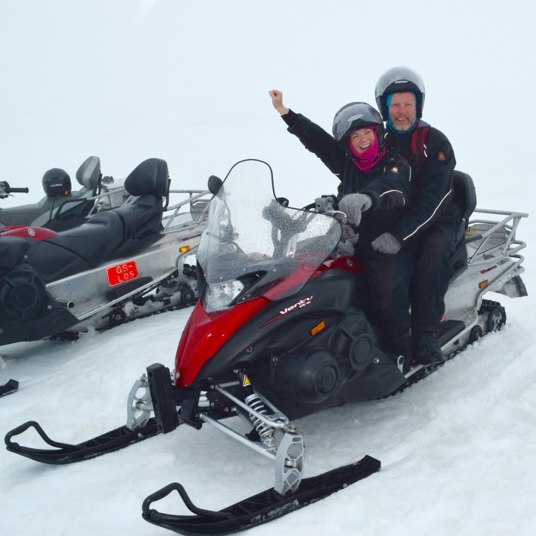 snow mobile iceland