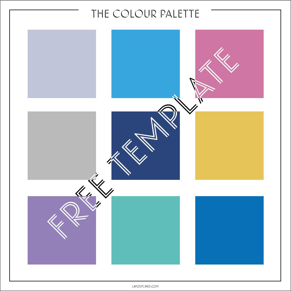 free Colour Palette
