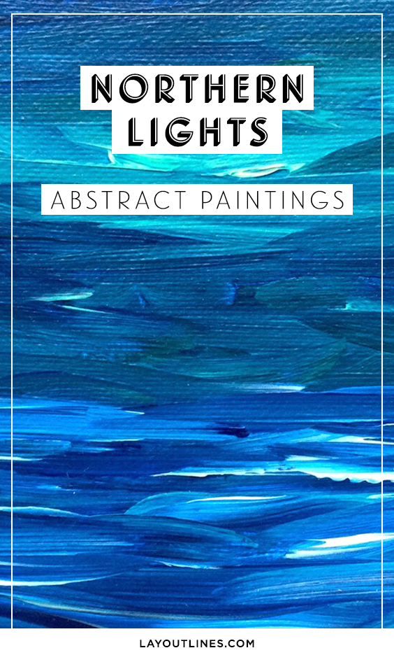 NORTHERN LIGHTS PAINTINGS