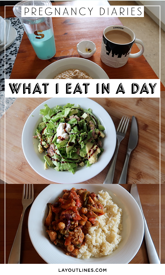 what I eat in a day, pregnancy diaries