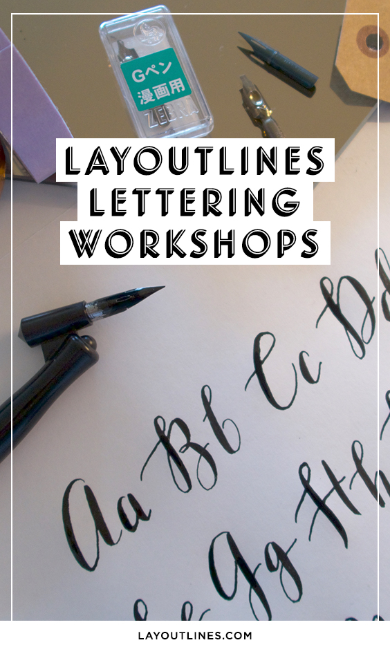 Layoutlines Lettering Workshops