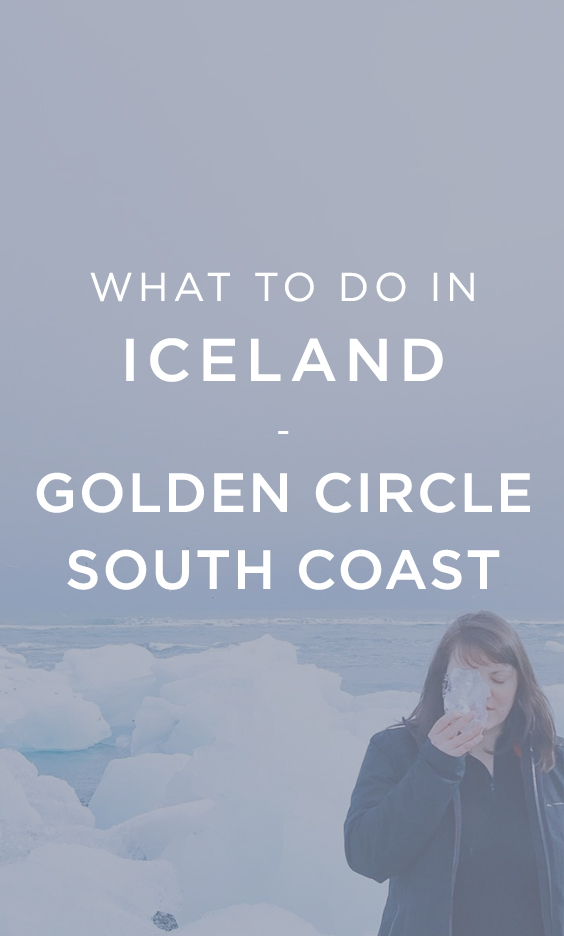 What to do in Iceland: Golden Circle South Coast