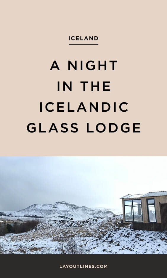 A Night in the Icelandic Panorama Glass Lodge