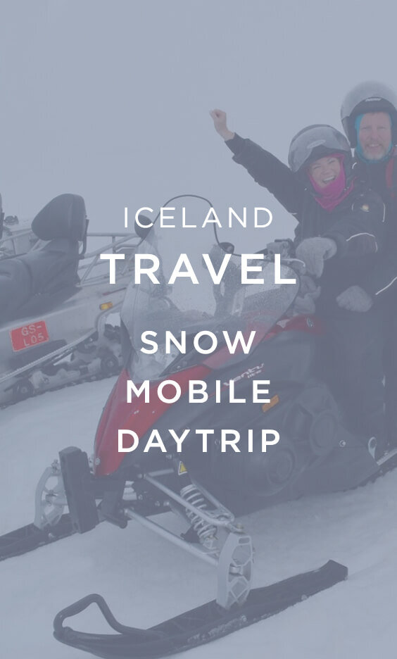 Iceland Travel Snow Mobile Day trip