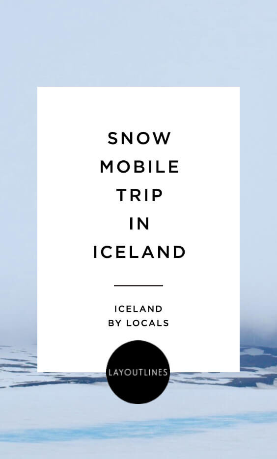 Snow Mobile Trip in Iceland