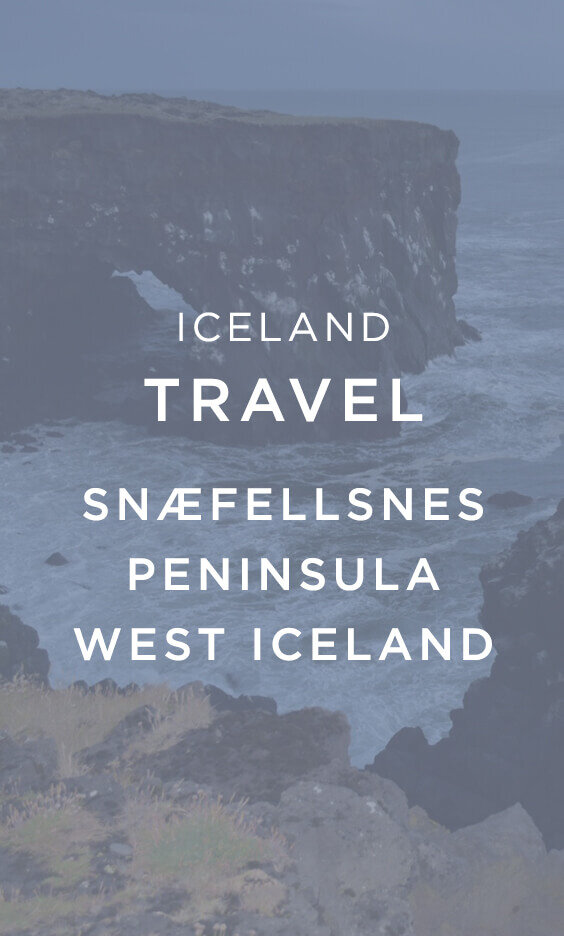 Iceland Travel SNÆFELLSNES PENINSULA West Iceland