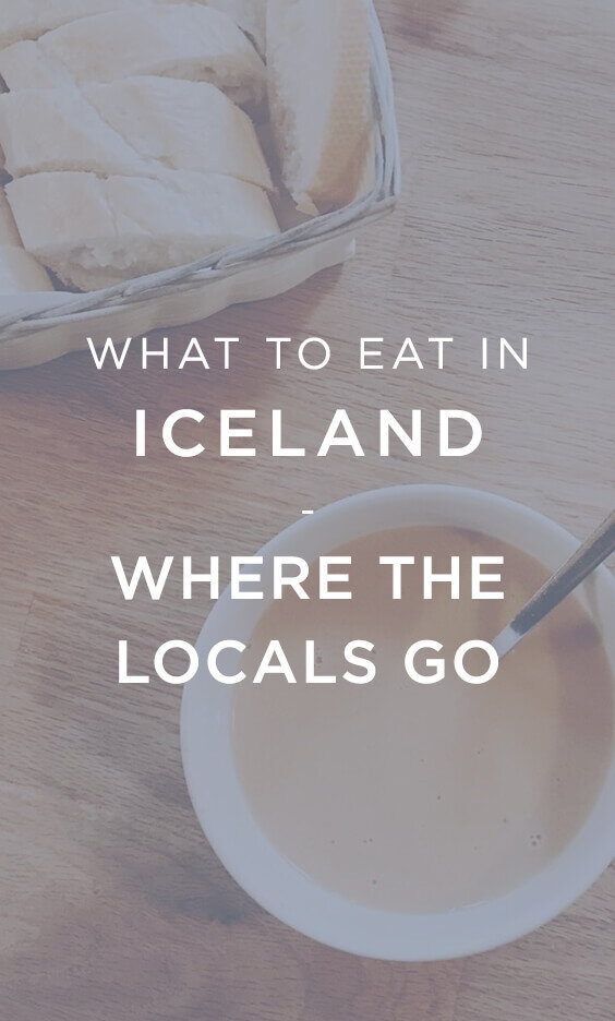 What to eat in Reykjavik Iceland