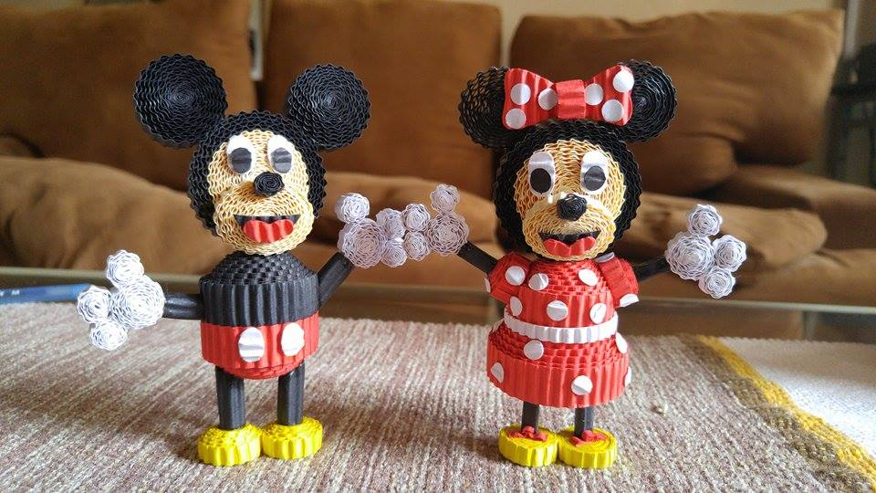 Our fave classic Disney-duo Mickey & Minnie!