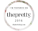 featured on The  Pretty Blog 2017