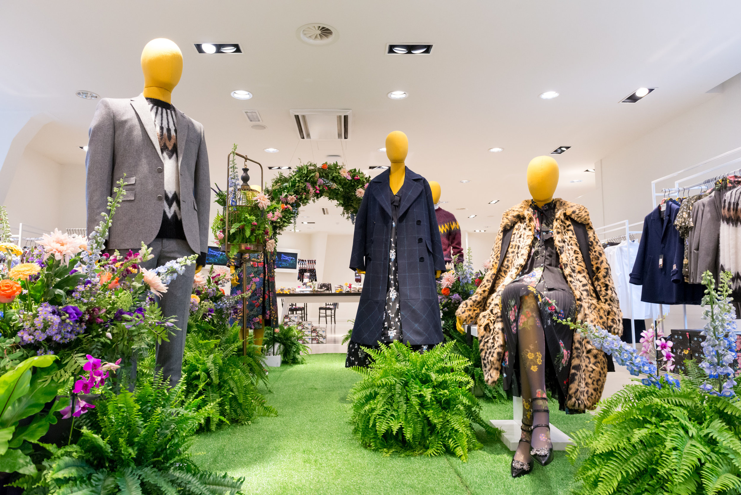 Floral Visual Merchandising