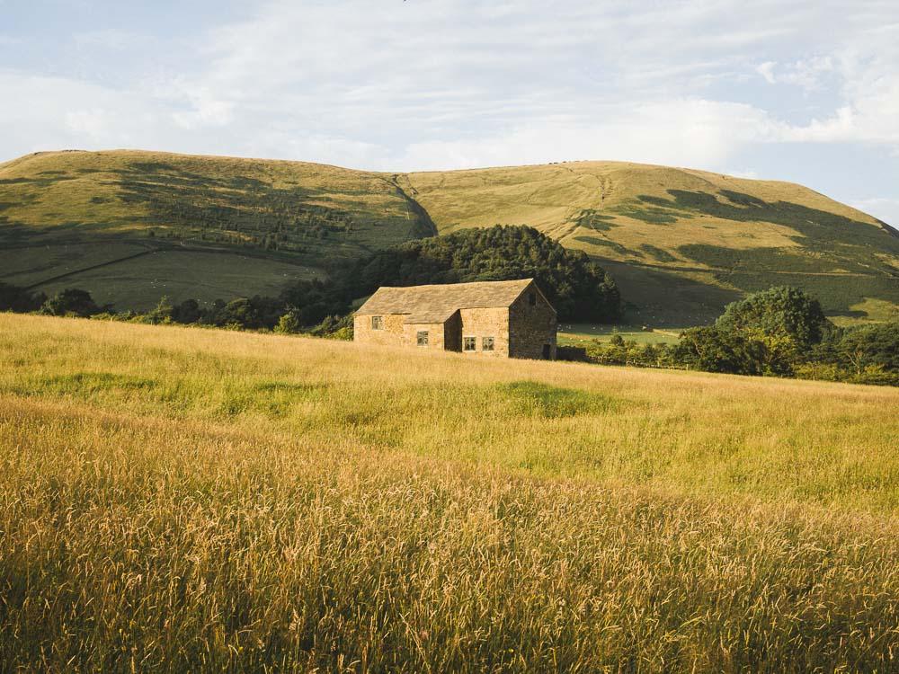 Edale Barn, Peak District.