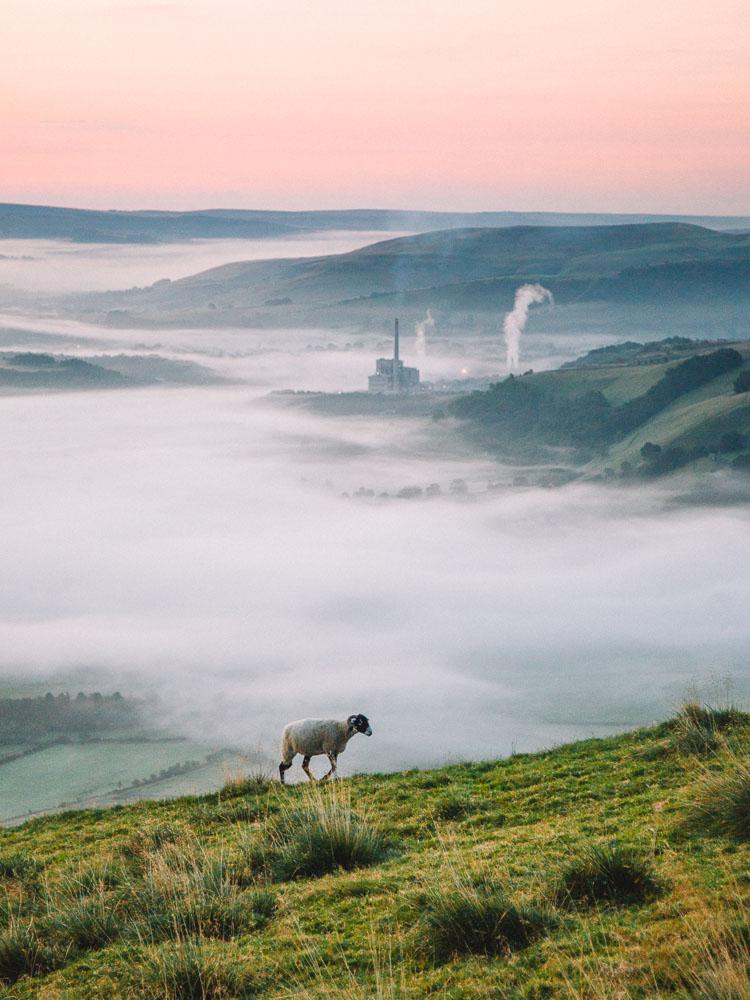 Mam Tor, Peak District.