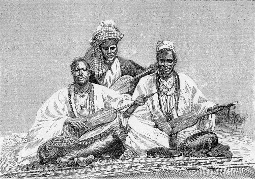 Griots of Sambala, king of Médina  -  Bibliothèque nationale de France - Public Domain