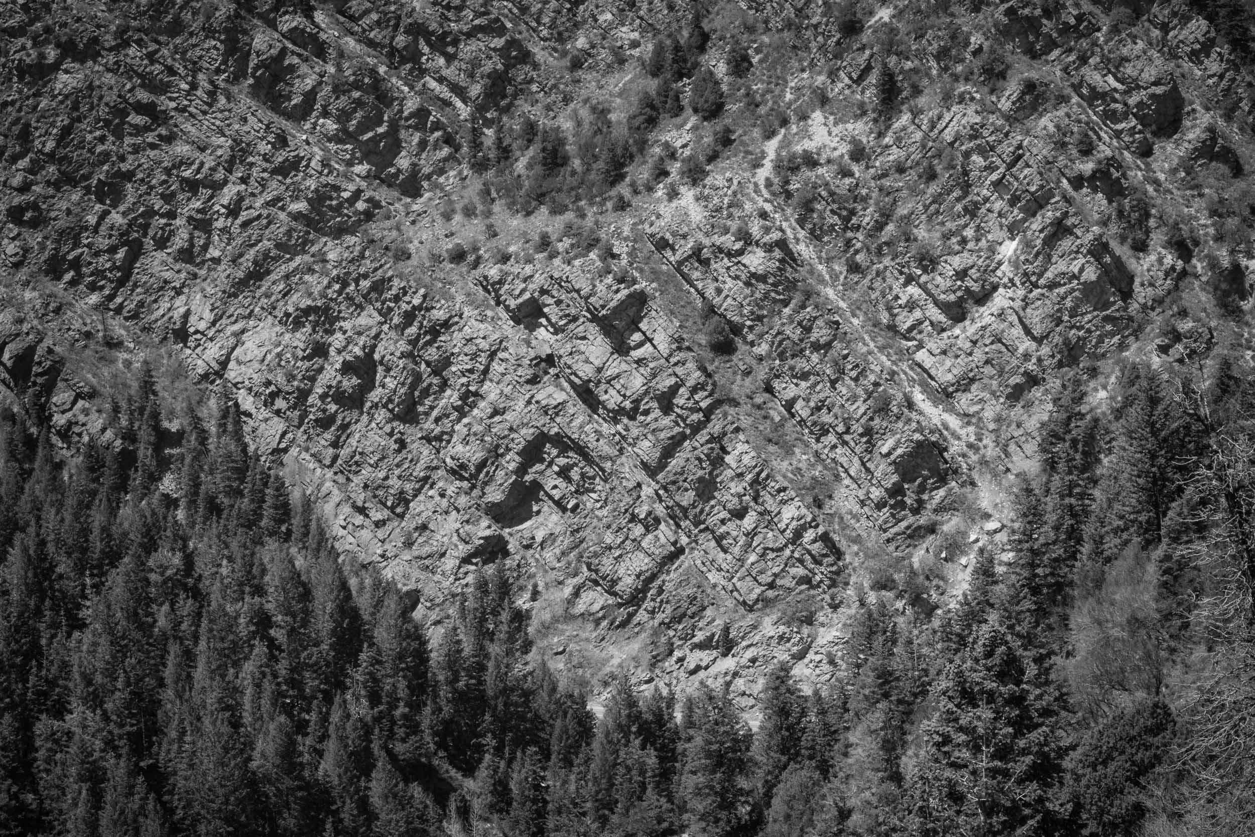 Big Cottonwood Canyon, Twin Peaks Wilderness, Wasatch Range, Utah.