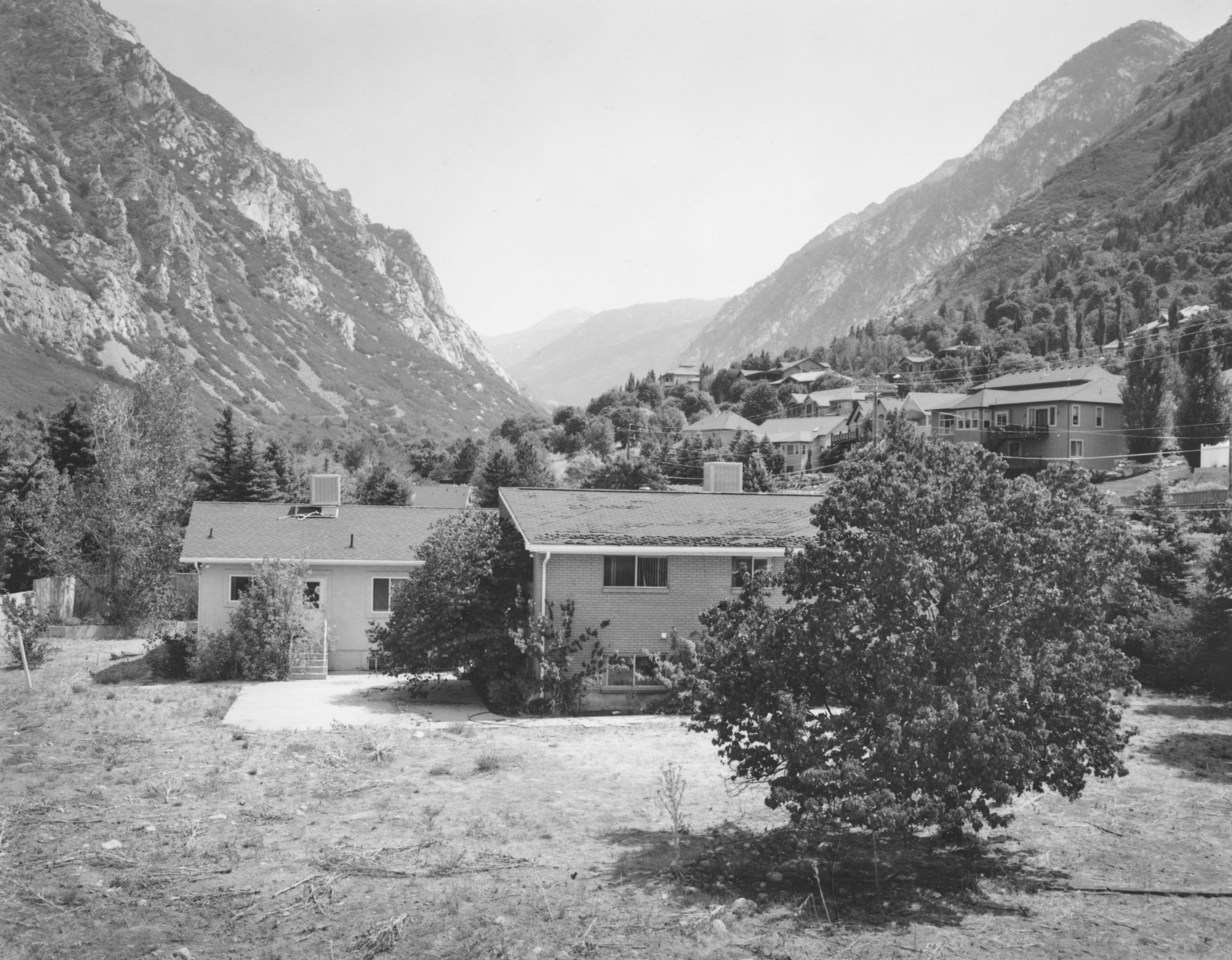 """The last remaining dwelling on former FLDS leader Rulon Jeffs' 4.5 acre compound sits at the mouth of Little Cottonwood Canyon. The compound included a school: Alta Academy. Rulon's son, Warren Jeffs, was the principal and a teacher at the school for 22 years. The academy's motto was, """"perfect obedience produces perfect faith.''"""