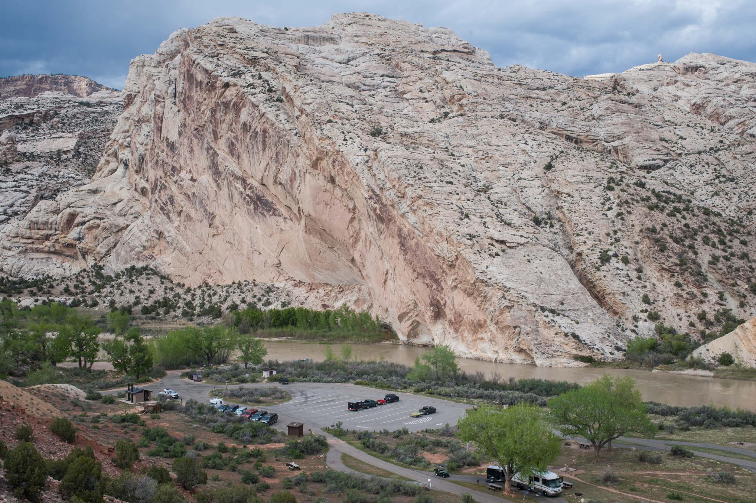 The Green River at Dinosaur National Monument, Jensen, Utah.