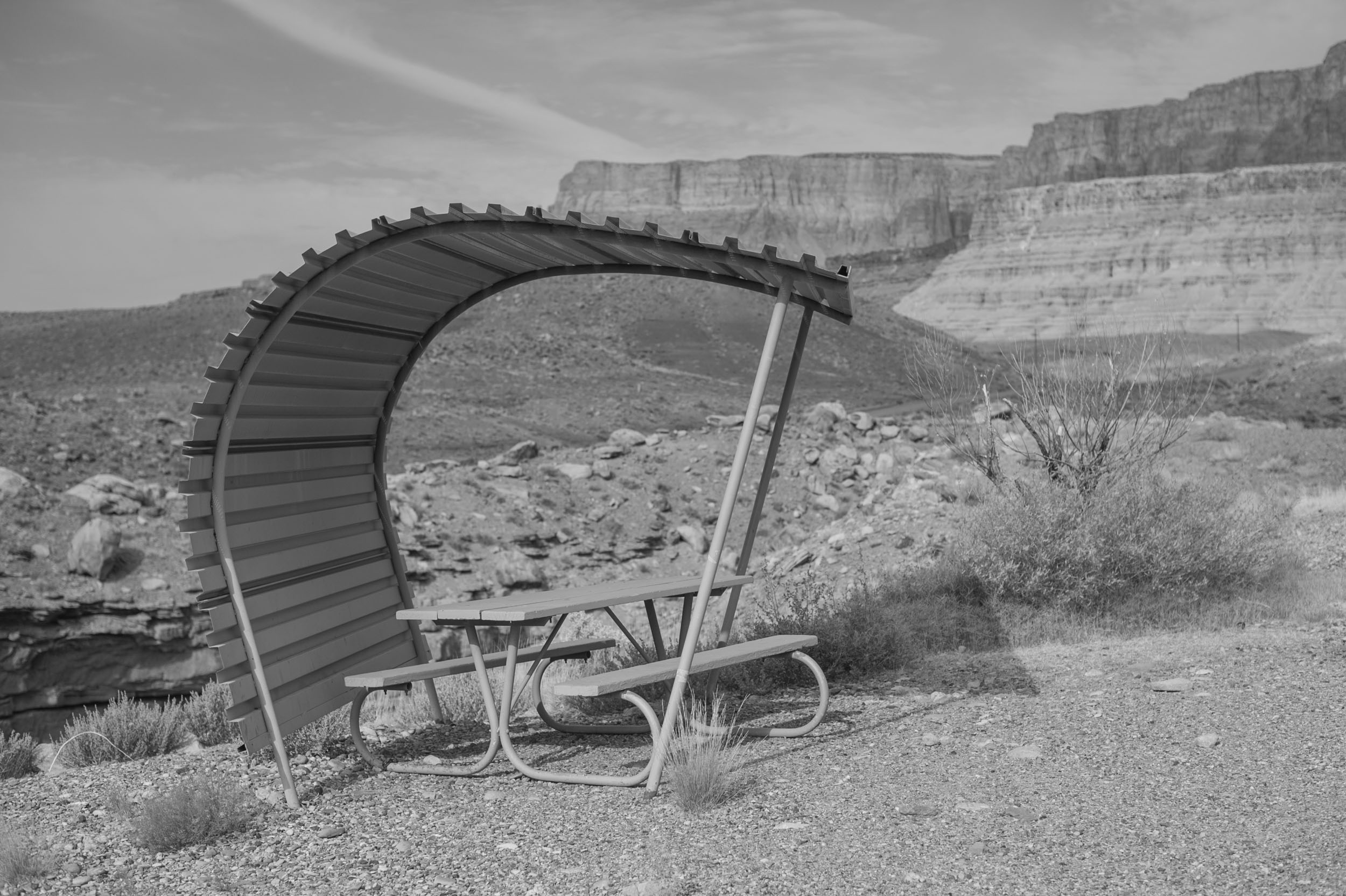 Lee's Ferry Campground in Marble Canyon, Arizona.
