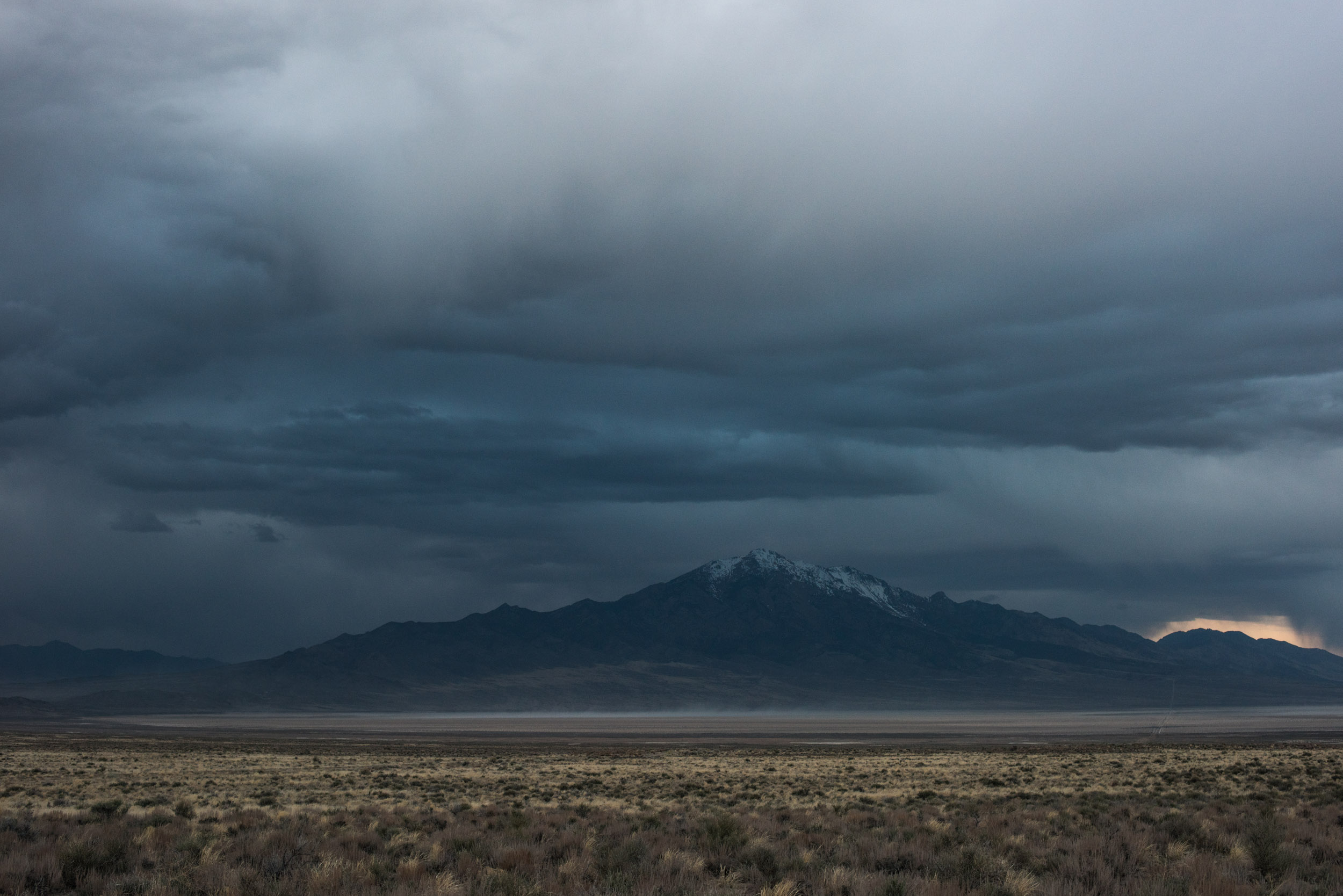 Pilot Peak, 10,719',in the Pilot Range, Nevada.