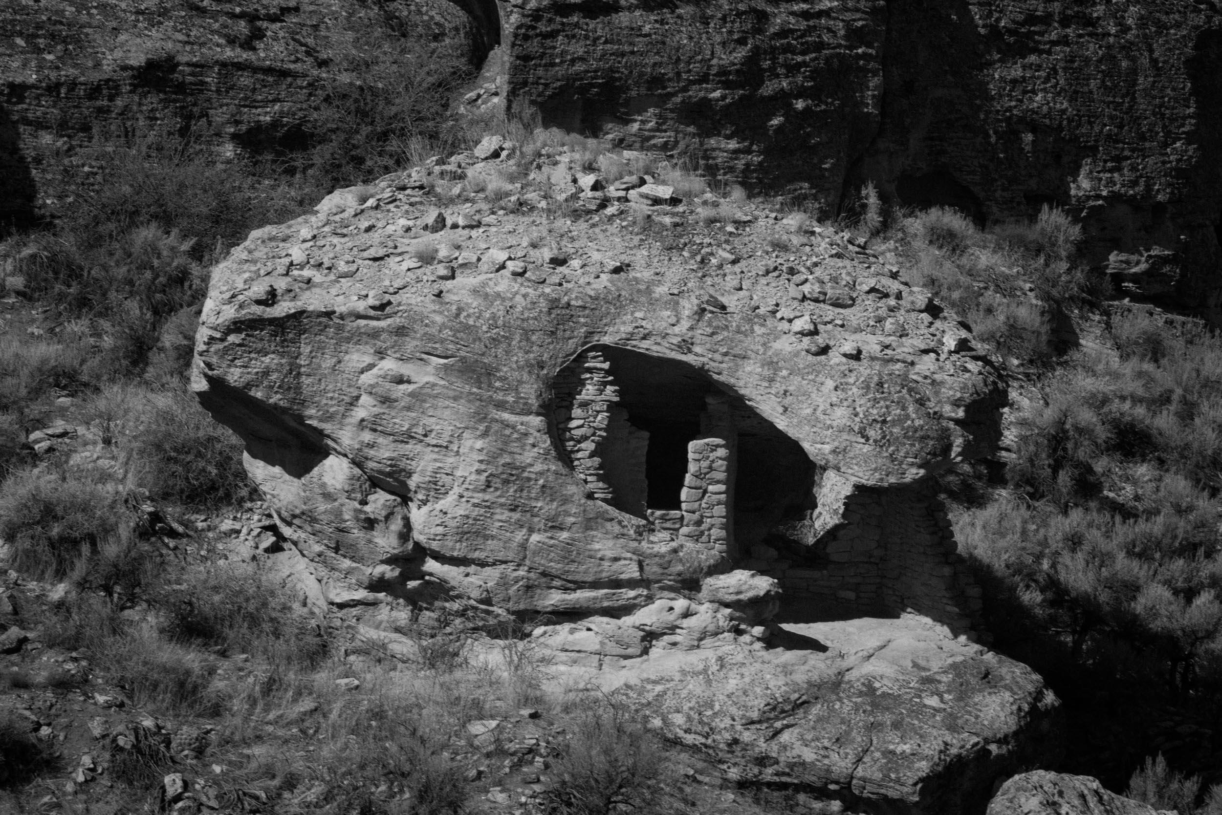 Ancestral Puebloan site at Hovenweep National Park.