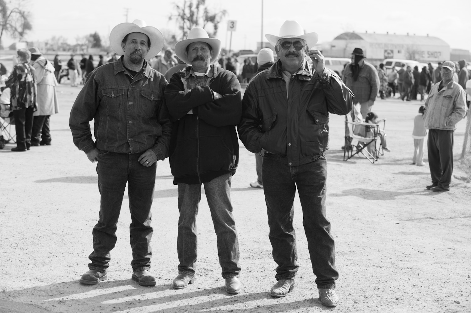 Humberto, center, has worked in many Central Valley farms for over 3 decades.