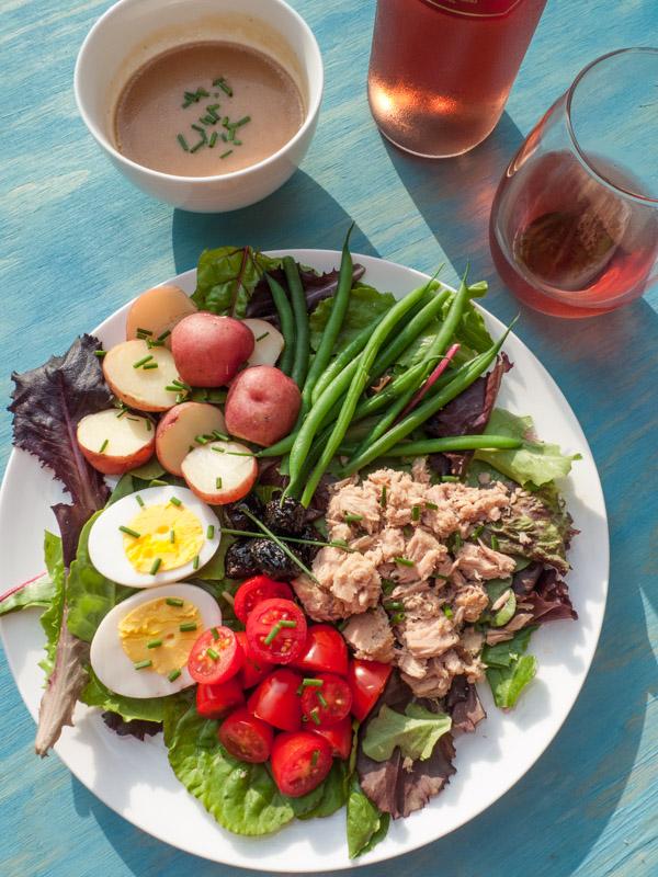 Salad Nicoise Low-FODMAP, gluten free