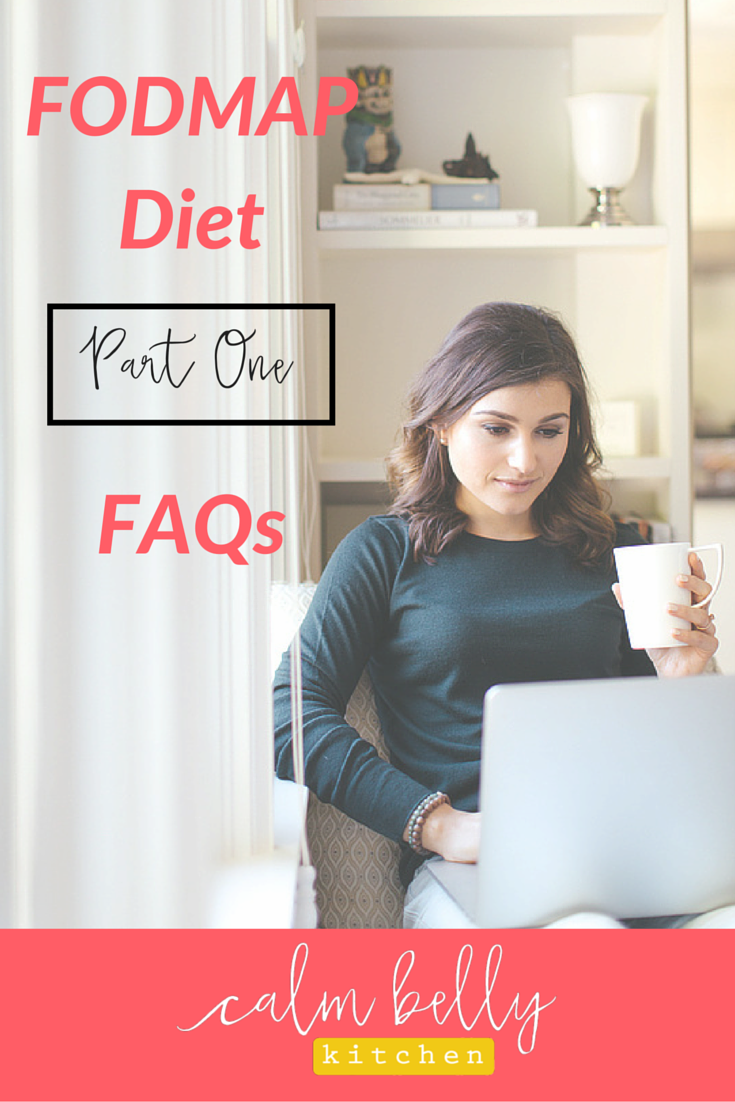"Get the facts about the low FODMAP diet. I'll answer 2 of the most frequently asked questions I get: ""How can I eat in restaurants and will one dinner out ruin the elimination phase?"" And, ""Should I be eating a No-FODMAP or a Low-FODMAP diet?"" Click through to read the answers to these key questions or watch the video I made with even more info!"