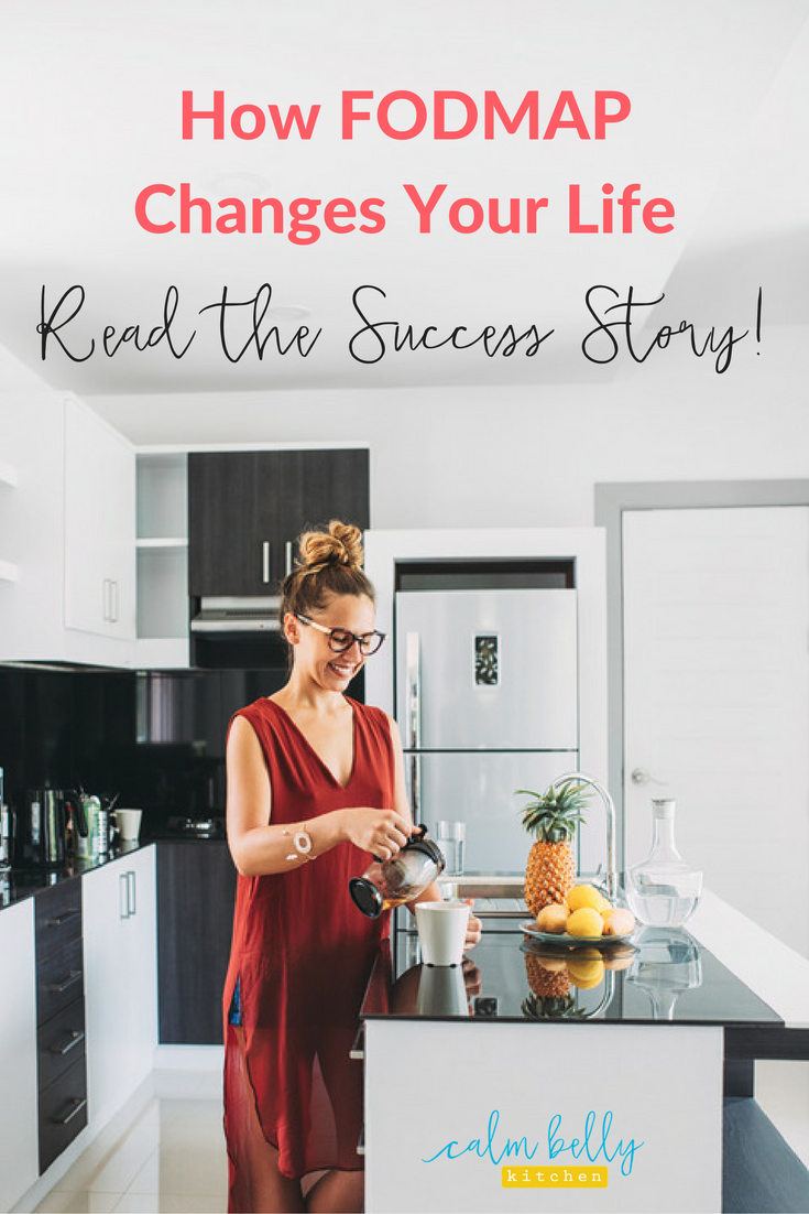 Click through to read how the FODMAP diet works in real life! Kate was a busy teacher who wanted to enjoy social meals without the anxiety of IBS symptoms. Read her Behind the Belly Story of how the FODMAP diet helped her reach her goals, including eating Mexican food again!