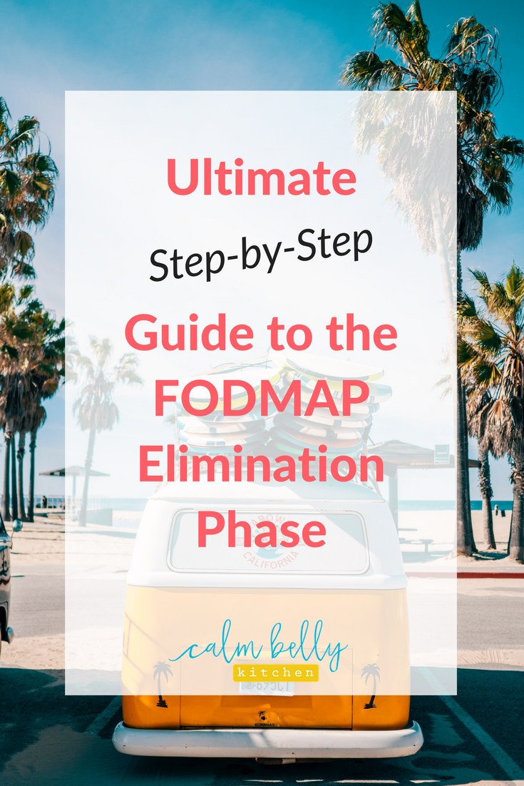 Learn the 10 things you MUST do during the FODMAP Diet Elimination Phase. It may seem overwhelming but I've boiled it down to what you need to know to relieve your symptoms FAST. #IBS #fodmap